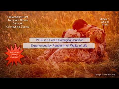 Fully Accredited Professional PTSD Counselling Course