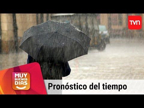 ¿Sistema frontal traerá lluvias intensas a la Región Metropolitana? | Muy buenos días