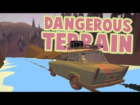 Jalopy - Driving Down A RIVER - Most Dangerous Terrain Yet! - Jalopy Gameplay