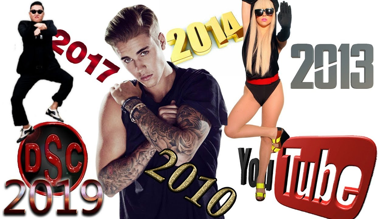 Most Viewed Music Videos Each Year 2010 2019 2 Youtube