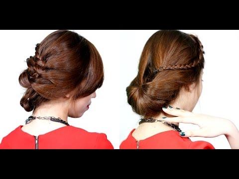 2 kiểu tóc tết lãng mạn cho mùa Thu