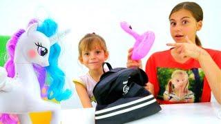 Литл Пони Принцесса Селестия - Рюкзак в школу - для девочек.