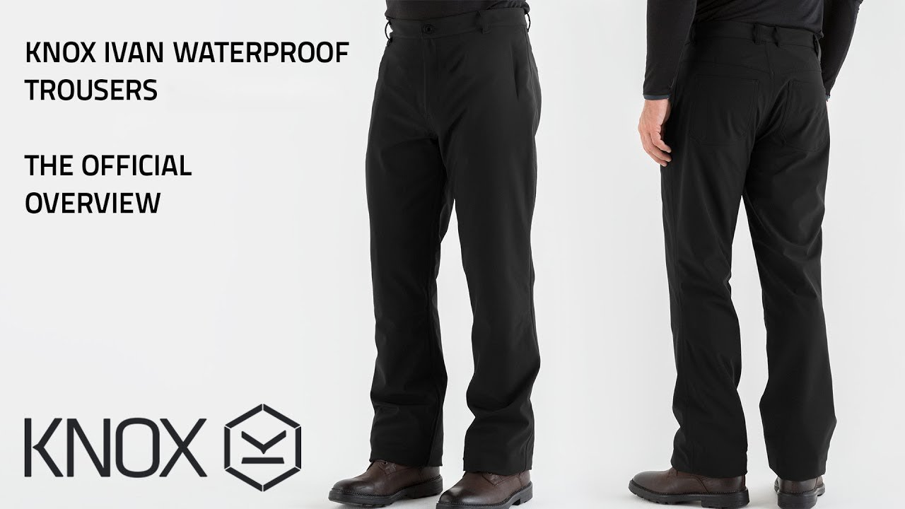 Knox Ivan Waterproof Motorcycle Trousers