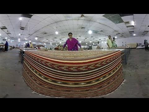 Virtual Reality: Inside an IKEA Carpet-Making Factory in India