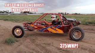Turbo V6 Honda Powered Sand Rail - FIRST DRIVE
