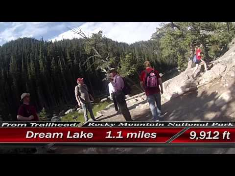Rocky Mountain National Park:  A hike from Bear Lake to Emerald Lake
