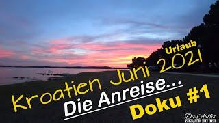Mit dem Wohnmobil nach Kroatien💖😀 Juni 2021 Doku #1 Die Anreise...Stop am Chiemsee + 1 Platz Medulin