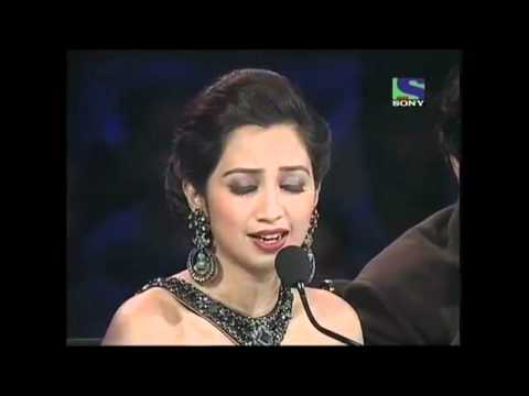Shreya ghoshal sing Saans Albeli on X Factor India