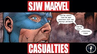 The Casualties of the Comic Book Culture War: Why I don't Make Marvel Mine Anymore.