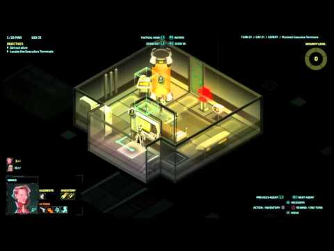 Let's play Invisible INC console EXPERT RUN #(011)