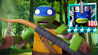 Vision Quest turtles against Shredder - Teenage Mutant Ninja Turtles Legends