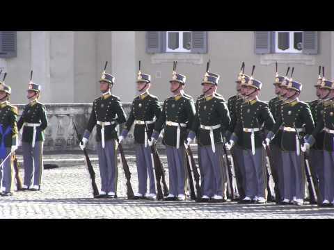 Cambio della Guardia d'Onore al Quirinale - GDF - 21 giugno 2014