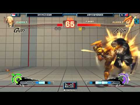 SEAM 2013 Final Day - Xian vs. GamerBee [Grand Final] [SSF4 AE 2012] Part.11 END
