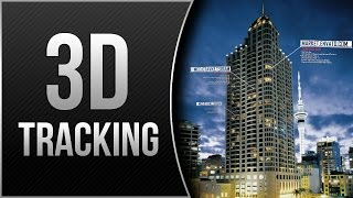3D Camera Tracking in AFTER EFFECTS! │ Get Info On BUILDINGS! (IRON MAN Inspired VFX)