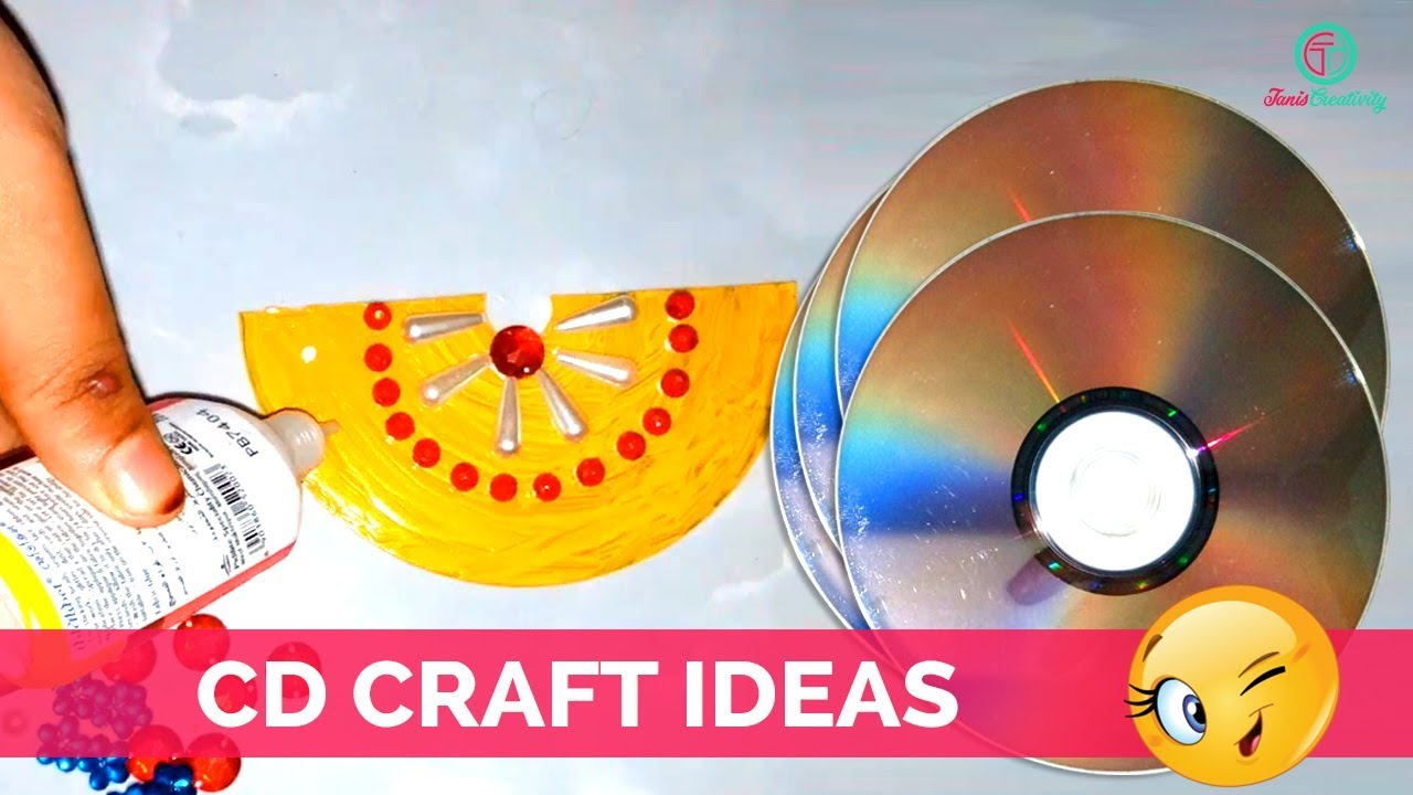 waste cd craft ideas how to create cd wall hanging from cd craft ideas best 5699