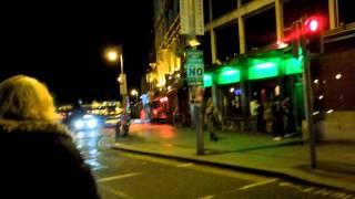 アキーラさん散策!アイルランド・ダブリン・夜の街1,Dublin,Ireland