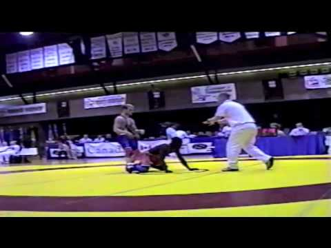 2000 Senior Greco National Championships: 54 kg Jerry Asiedu vs. Unknown