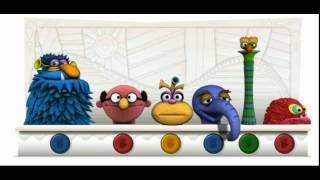 "Jim Henson Muppets Google Doodle sing Bruce Springsteen ""Hungry Heart"""