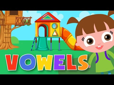 Vowel Sounds | Vowels And Consonants | ABC Phonics For Kids!
