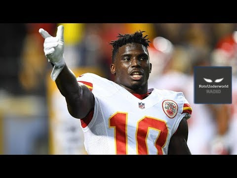 Chiefs mismanaged their cap and are now stuck with Tyreek Hill at No. 1 WR. Good luck with that.