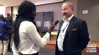 WORLD TOURISM FORUM ANGOLA 2019 - INTERVIEW with Tim Smith, HVS Cape Town