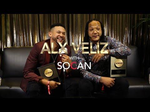 Alx Veliz with SOCAN