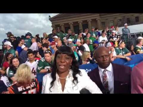 John Ross Bengals NFL Draft Pick On Red Carpet #NFLDraft
