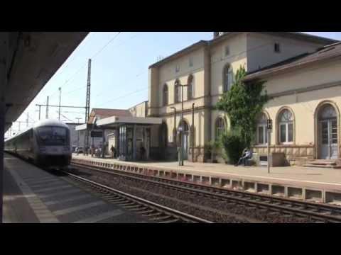 Gotha Hauptbahnhof, Thuringia, Germany - 4th June, 2015