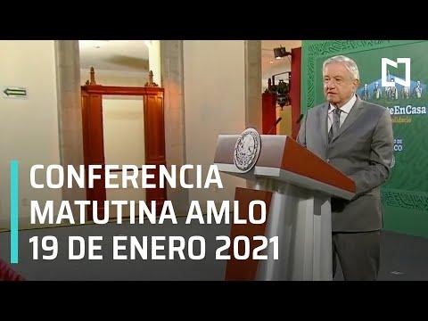 Conferencia matutina AMLO / 19 de enero 2021