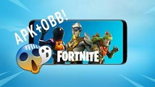 Fortnite Apk + Obb Download 2018! For incompatible phones!