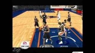 NBA Live 2002 Xbox Gameplay
