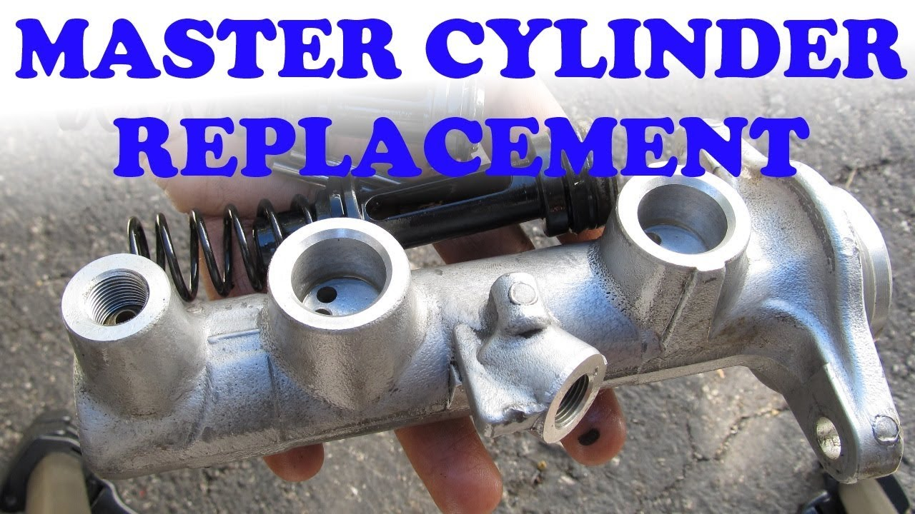 medium resolution of how to replace a brake master cylinder