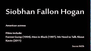 How to pronounce - Siobhan Fallon Hogan