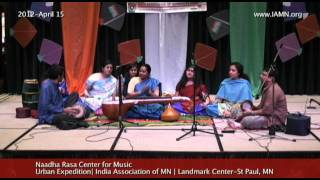 Naadha Rasa Center for Music-Carnatic Music 5[India Association of MN]