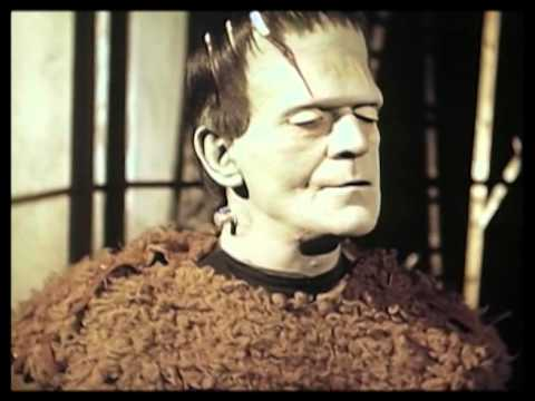 Son of Frankenstein Boris Karloff Color Test