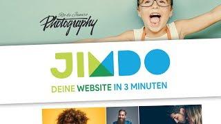 Professionelle Website IN 3 MINUTEN EINFACH erstellen | Das Jimdo Dolphin Tutorial (Deutsch)