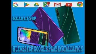 HUAWEI Y6P Google Play Installation
