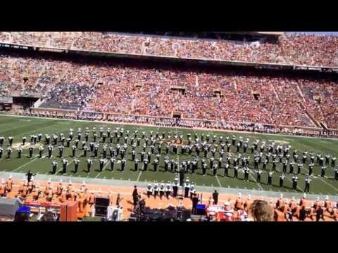 Ohio University Marching 110 at Tennessee Halftime September 17, 2016