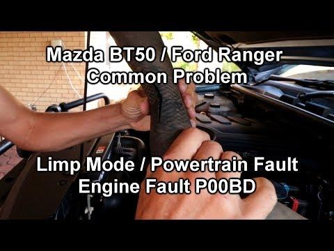 BT50 / Ranger Limp Mode Intercooler Hose Problem | Fault P00BD