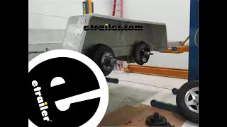 Dexter 12 Inch Electric Trailer Brake Installation - etrailer.com