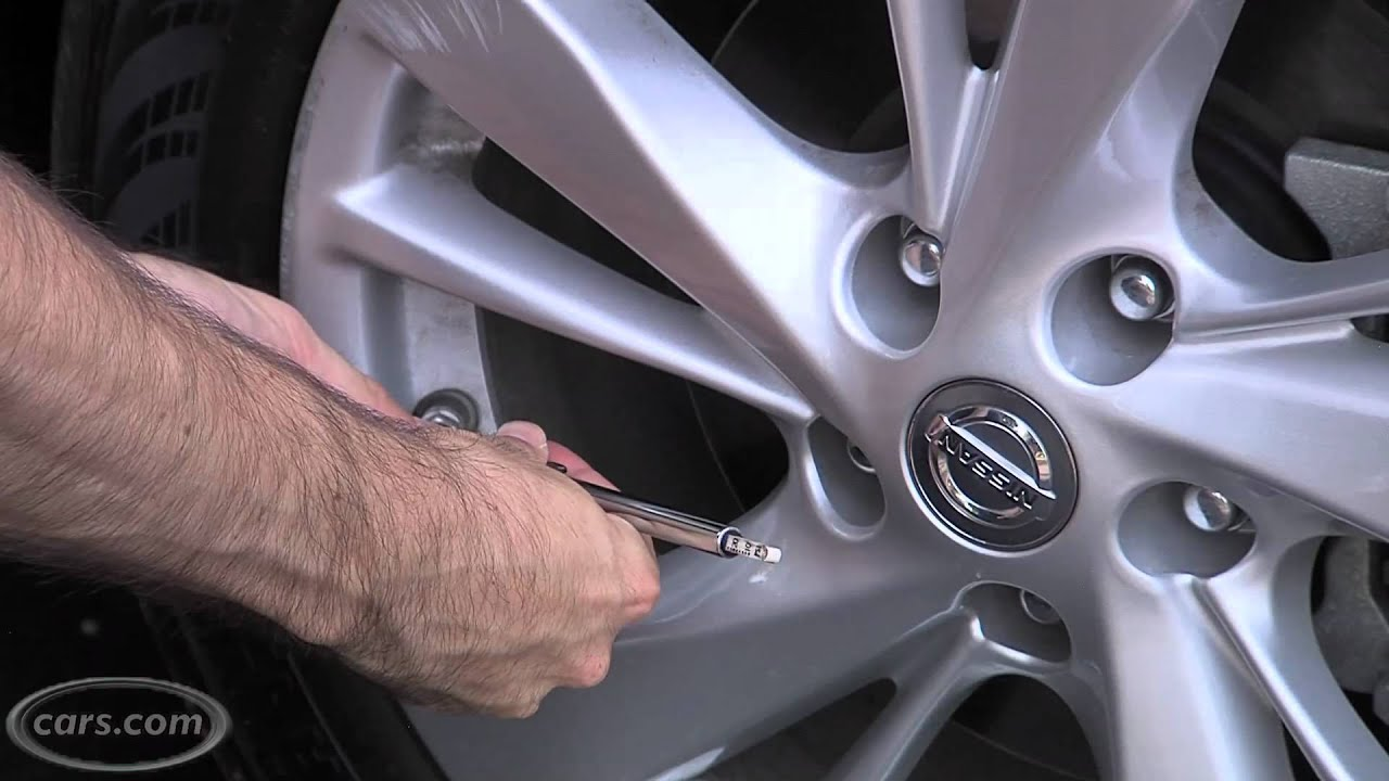 2013 Nissan Altima Easy Fill Tire Alert   YouTube