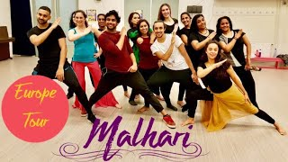 Malhari | Dance Choreography | Mohit Mathur | Bollywood Workshop | Europe Tour