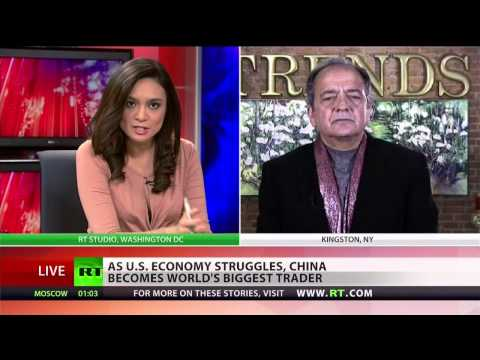 Gerald Celente on China surpassing US global economic dominance