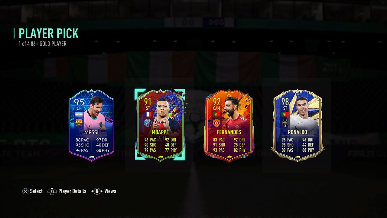 THIS IS WHAT I GOT IN 30x 86+ PLAYER PICKS! #FIFA 21 ULTIMATE TEAM