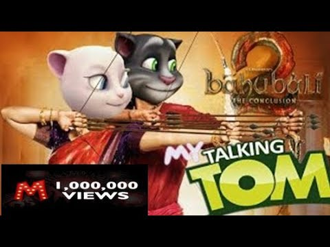 Talking Tom and Angelia Bahubali Spoof || Ori Ori Raja Sond Spoof