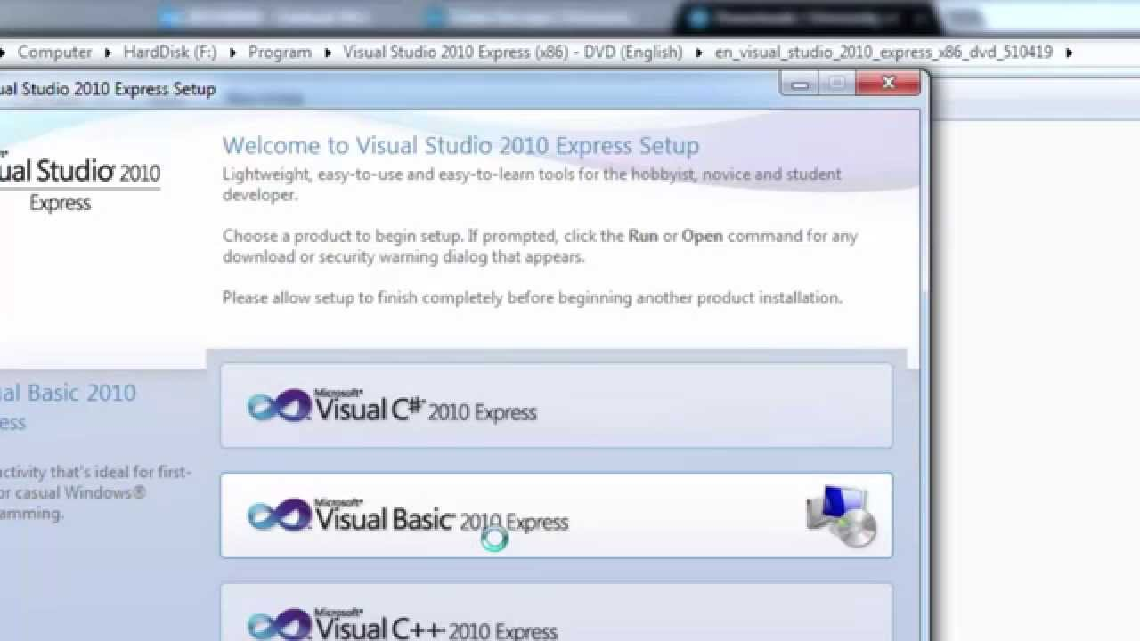 how to make a downloader in visual basic 2010
