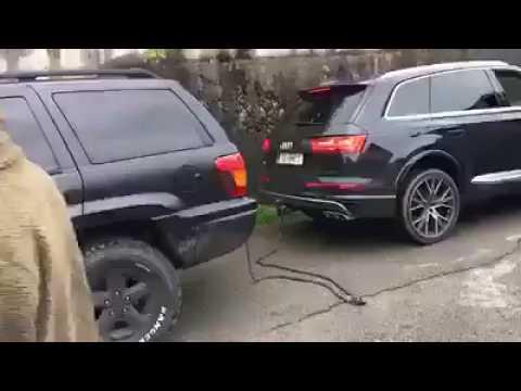 Cabo de guerra entre Audi Q7 e Jeep Cherokee