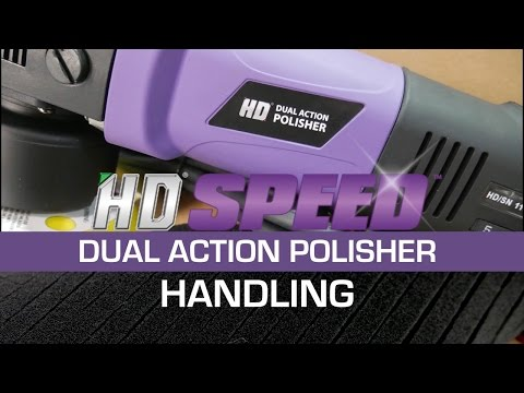 HD DUAL ACTION POLISHER - HANDLING