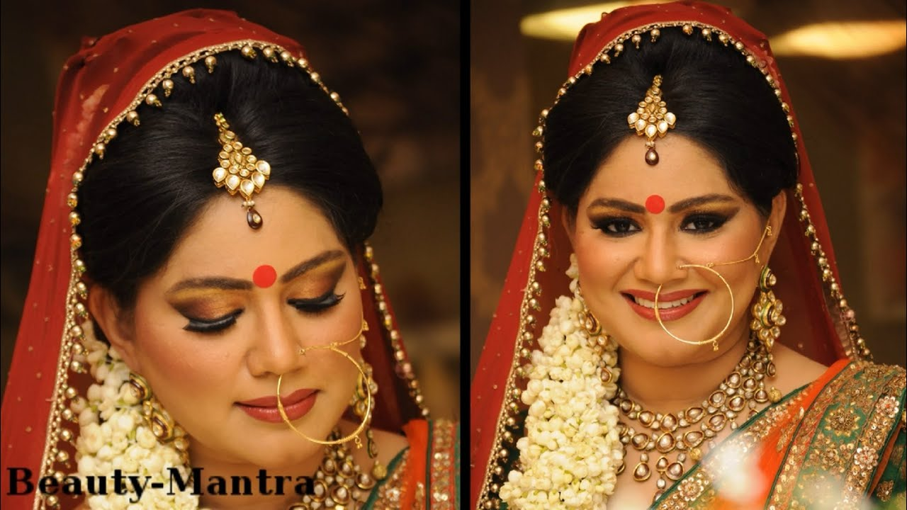 Traditional Hindu Bridal Makeup