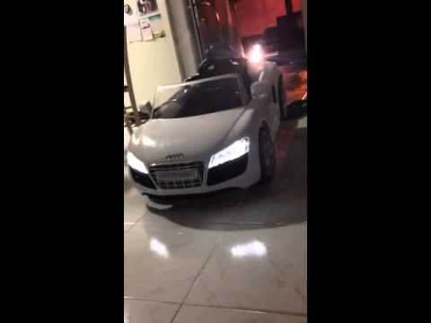 Audi R Spyder Ride On V YouTube - Audi 6v car